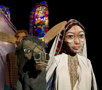 The Nativity of Mesner Puppets