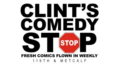Clint's Comedy Stop located in Overland Park KS