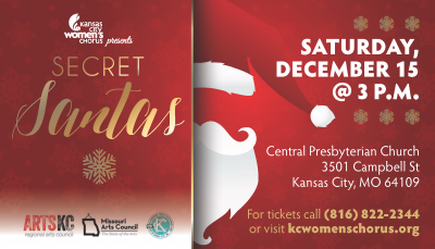 Kansas City Women's Chorus Presents SECRET SANTAS