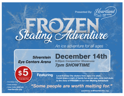 Frozen Skating Adventures at Heartland Figure Skating Club