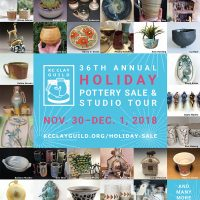 KC Clay Guild Holiday Pottery Sale and Studio Tour presented by KC Clay Guild at KC Clay Guild, Kansas City MO