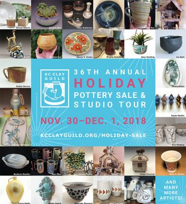 KC Clay Guild Holiday Pottery Sale and Studio Tour...