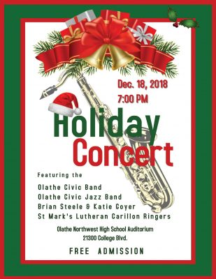 Olathe Civic Band Holiday Concert