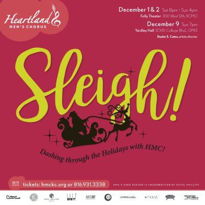 SLEIGH! Dashing Through the Holidays with Heartland Men's Chorus at JCCC