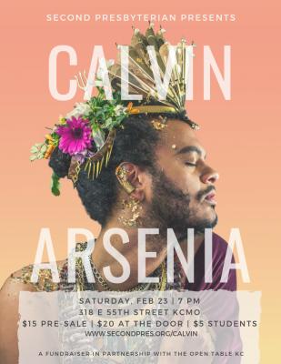 Calvin Arsenia Concert: A Fundraiser for The Open ...