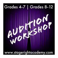 Audition Workshop (grades 4-7)