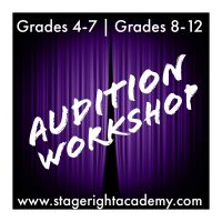 Audition Workshop (grades 8-12)