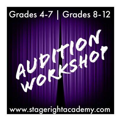 Audition Workshop (grades 8-12)