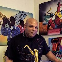Travois First Friday: Juan Houston's curated collection of jazz art