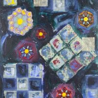 Andrea K. Lee / Enid Lee Paintings and Quilts Exhibit presented by Park University at Campanella Gallery, Kansas City MO
