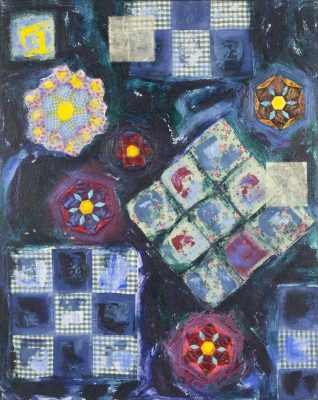 Andrea K. Lee / Enid Lee Paintings and Quilts Exhi...