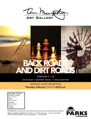Backroads and Dirt Roads Photography Art Show