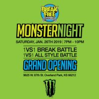 "Break Free Kansas City Hip Hop School – GRAND OPENING EVENT! presented by James ""SugEasy"" Singleton at ,"