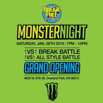 Break Free Kansas City Hip Hop School - GRAND OPEN...