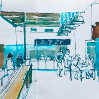 February Sketch Out with Urban Sketchers KC presented by UrbanSketchersKC at ,