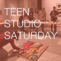 Teen Studio Saturday at the Kemper Museum - Every 3rd Saturday