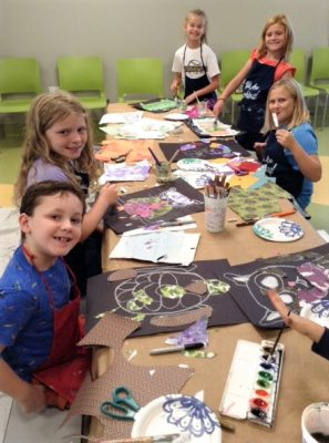 Pop-up Art Camp (Ages 9-12)