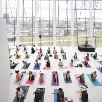 Yoga at the Kauffman Center