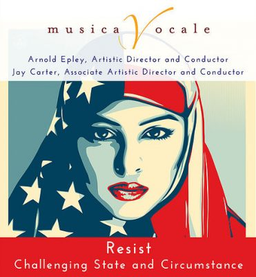 Musica Vocale presents Resist: Challenging State and Circumstance