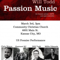 Kantorei KC: Passion Music with Will Todd and Millie Edwards
