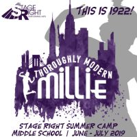 Thoroughly Modern Millie Musical Theatre Summer Camps (grades 6-8)