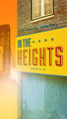 In The Heights presented by Musical Theater Heritage, Inc. at MTH Theater at Crown Center, Kansas City MO
