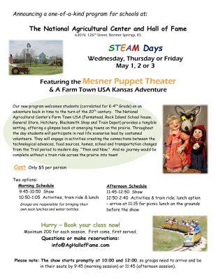 STEAM Days featuring Mesner Puppet Theater