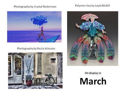 R.G. Endres Gallery March Arts Exhibit