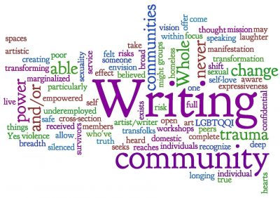 Community Writing and Performance Workshops