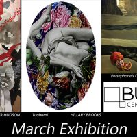 March Exhibition: Susan Kiefer, Molly Allen, Jennifer Hudson, Hillary Brooks, et. al. presented by Susan Kiefer at Bunker Center for the Arts, Kansas City MO