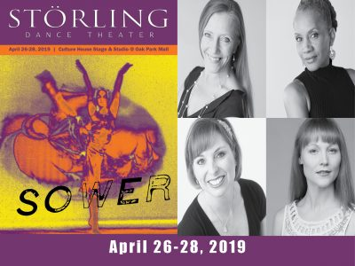 """Storling Dance Theater Presents """"Sower"""" presented by The Culture House at The Culture House Stage and Studio at Oak Park Mall, Overland Park KS"""