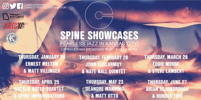 Spine Showcases: Brian Scarborough and Hundee Trio presented by Charlotte Street Foundation at Capsule, Kansas City MO
