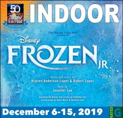 Frozen Jr. presented by Theatre in the Park at Theatre in the Park INDOOR, Overland Park KS