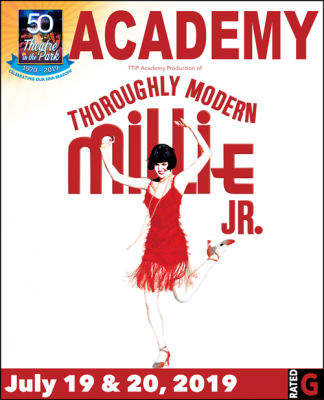 Thoroughly Modern Millie Jr. presented by Theatre in the Park at Theatre in the Park INDOOR, Overland Park KS