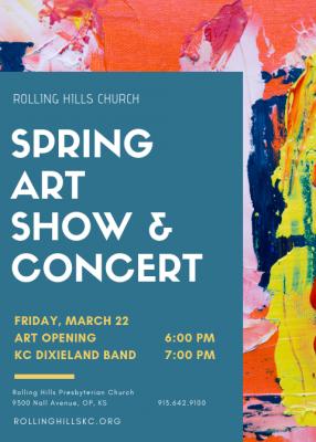 Rolling Hills Spring Art Show & KC Dixieland B...