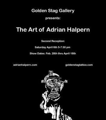 The Art Of Adrian Halpern