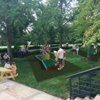 "Mini Golf ""Art Course"" at Nelson-Atkins"