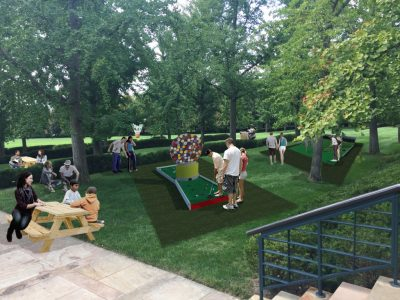 "Mini Golf ""Art Course"" - June"