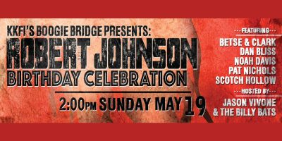 Robert Johnson Birthday Celebration & Blues-Jam Honoring Legend of the Delta Blues