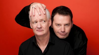 Colin Mochrie & Brad Sherwood The Scared Scriptless Tour presented by Carlsen Center at Johnson County Community College at Carlsen Center at Johnson County Community College, Overland Park KS