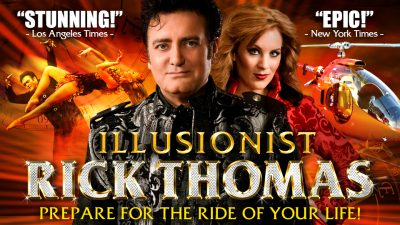 Rick Thomas, Illusionist presented by Carlsen Center at Johnson County Community College at Carlsen Center at Johnson County Community College, Overland Park KS