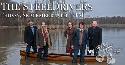 SteelDrivers presented by Folly Theater at The Folly Theater, Kansas City MO