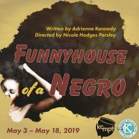Funnyhouse of a Negro presented by KC MeltingPot Theatre at Just Off Broadway Theatre, Kansas City MO