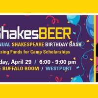 ShakesBEER presented by Heart of America Shakespeare Festival at The Buffalo Room, Kansas City MO