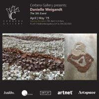 """Cerbera Gallery presents: """"The 5th Event"""" by Danielle Weigandt"""