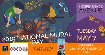 National Mural Day Kick off May 7