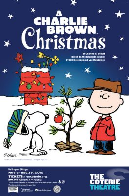 A Charlie Brown Christmas presented by The Coterie Theatre at The Coterie Theatre, Kansas City MO