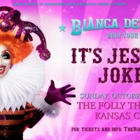 Biana Del Rio: It's Jester Joke presented by Folly Theater at The Folly Theater, Kansas City MO