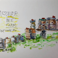 June Sketch Out with Urban Sketchers KC presented by UrbanSketchersKC at ,