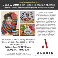 Alaris June First Friday Reception presented by Sylvia Augustus at ,
